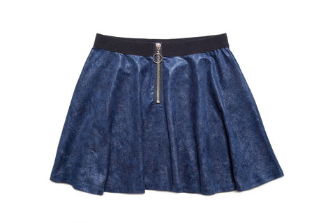 MIA New York Navy Skater Skirt