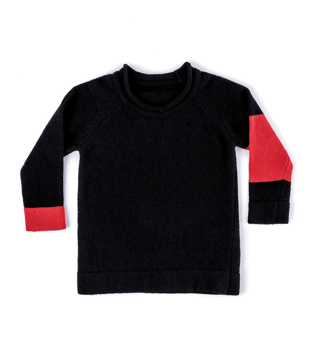 NUNUNU Colorblock Sweater