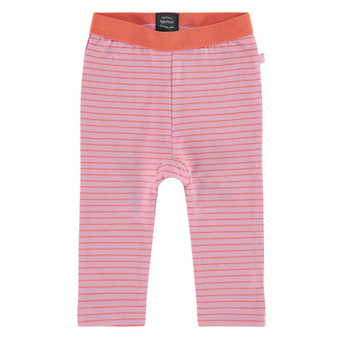 Babyface - Infant Lilac Striped Leggings
