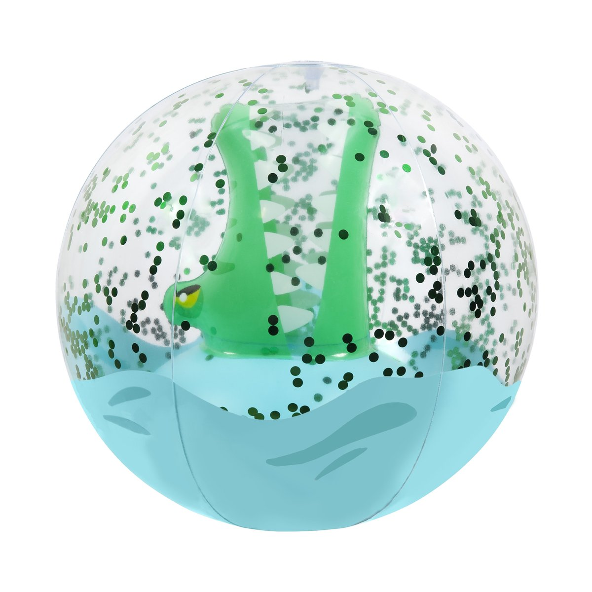 SUNNYLIFE INFLATABLE BEACH BALL | 3D CROC