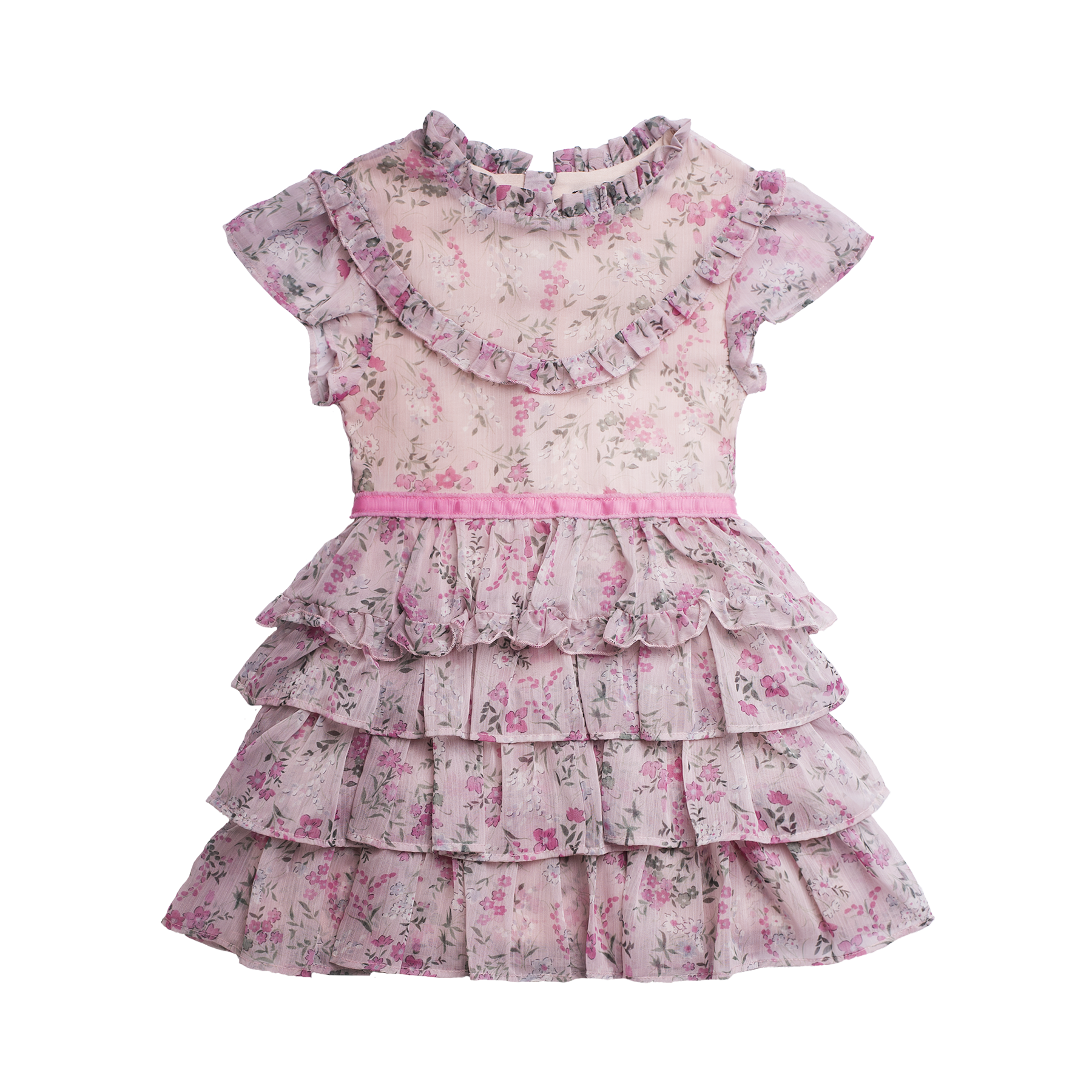 Imoga Serenity Girls Dress - Garden