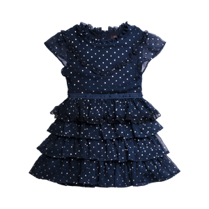 Imoga Serenity Girls Dress - Spangle