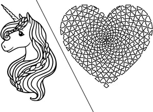 Sparkle Coloring Page 8