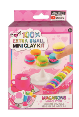 Fashion Angels 100% EXTRA SMALL MACARONS MINI CLAY KIT