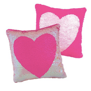 Fashion Angels - MAGIC SEQUIN HEART REVEAL PILLOW