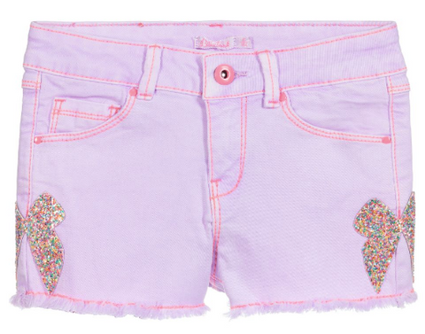 Billieblush - Bow Patch Shorts - Lilac