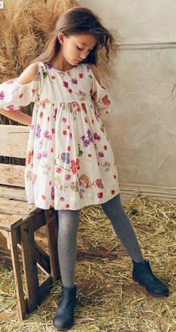 NELLYSTELLA Girls Vanessa Floral Dress