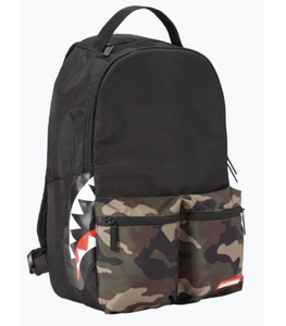 SPRAYGROUND Camo Shark Backpack