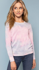 ME.N.U Girls Tie Dye Sweater
