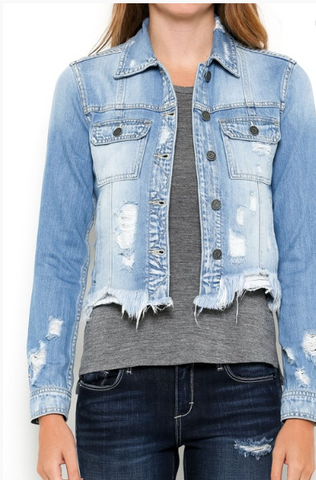 Hidden Denim Jacket