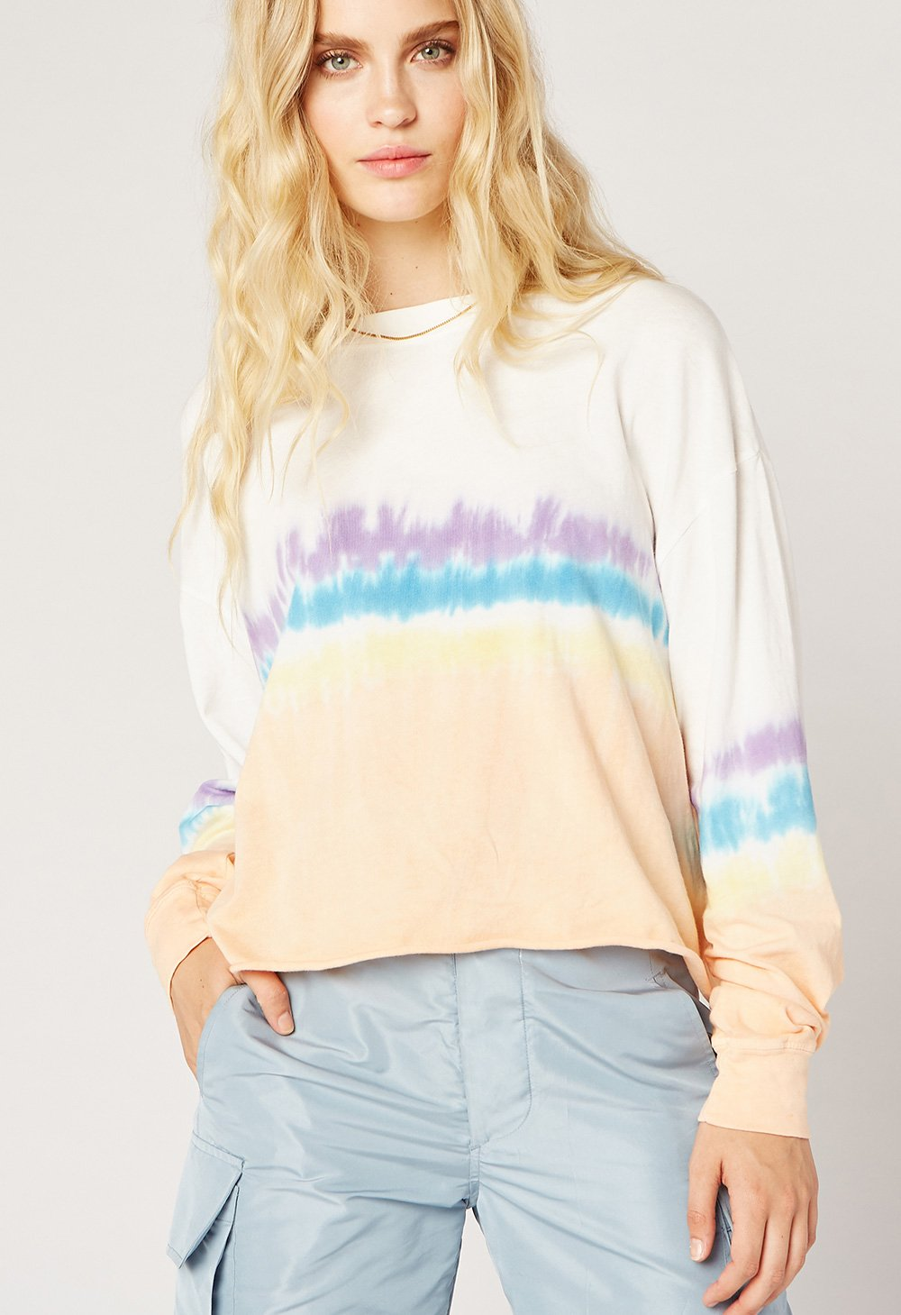 Daydreamer Sherbert Tie Dye Long Sleeve