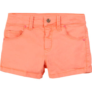 Billieblush Peach Denim Shorts