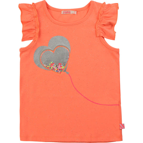Billieblush Orange T-Shirt