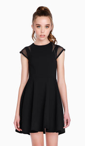 SALLY MILLER Short Sleeve Dress
