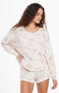 Z Supply - SUN RAY FADED TIE-DYE PULLOVER