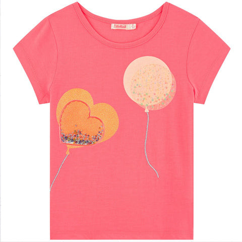 Billieblush Girls Pink T-Shirt