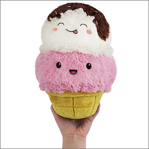 SQUISHABLE Mini Ice Cream Cone Pillow