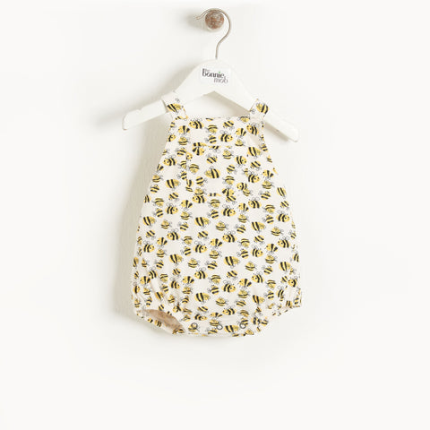 The Bonnie Mob Ivory Organic Cotton Shortie