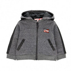 BOBOLI Boys Zip Up Sweatshirt