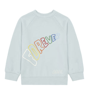 Hundred Pieces Forever Cool Organic Cotton Sweatshirt - Grey blue