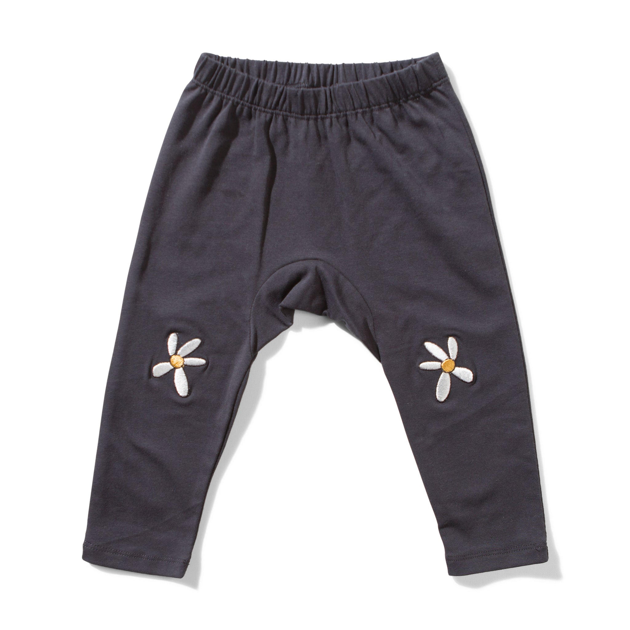 MUNSTER KIDS Girls Sweatpants with Daisies
