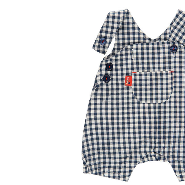 Boboli Checkered Infant Overalls