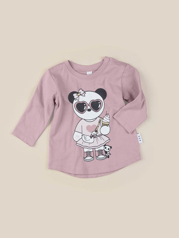 Huxbaby - PANDA GIRL TOP
