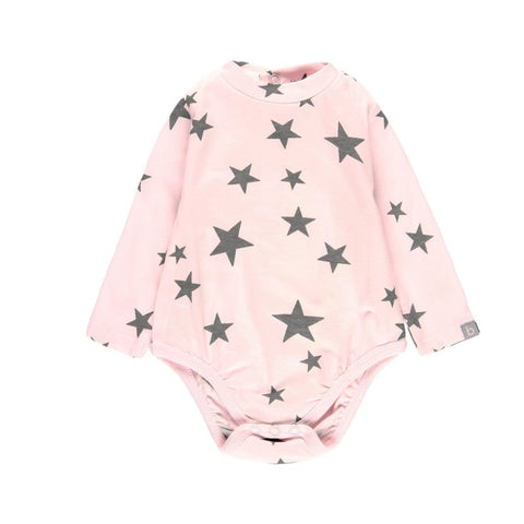 BOBOLI Girls Star Pink Bodysuit