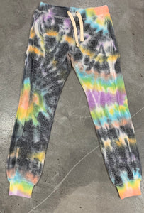 Vintage Havana - Reverse Sweatpants - Multi Color Tie Dye