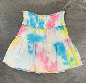 Flowers by Zoe Tie Dye Layered Skirt