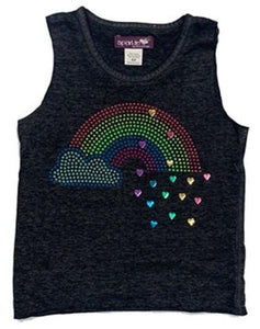 Sparkle By Stoopher Muscle Tank - Rainbow
