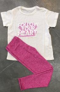 Spiritual Gangster - Follow Your Heart Tee