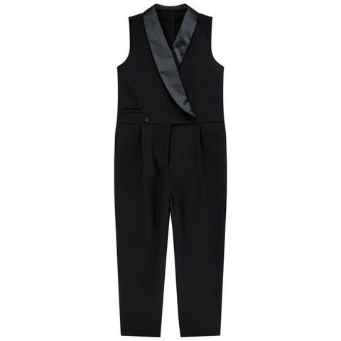 STELLA MCCARTNEY Girls Black Jumpsuit