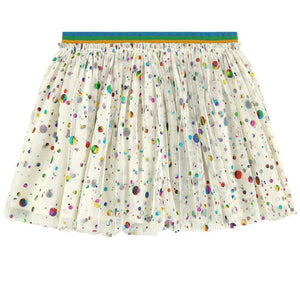 STELLA MCCARTNEY Girls Dot Print Skirt