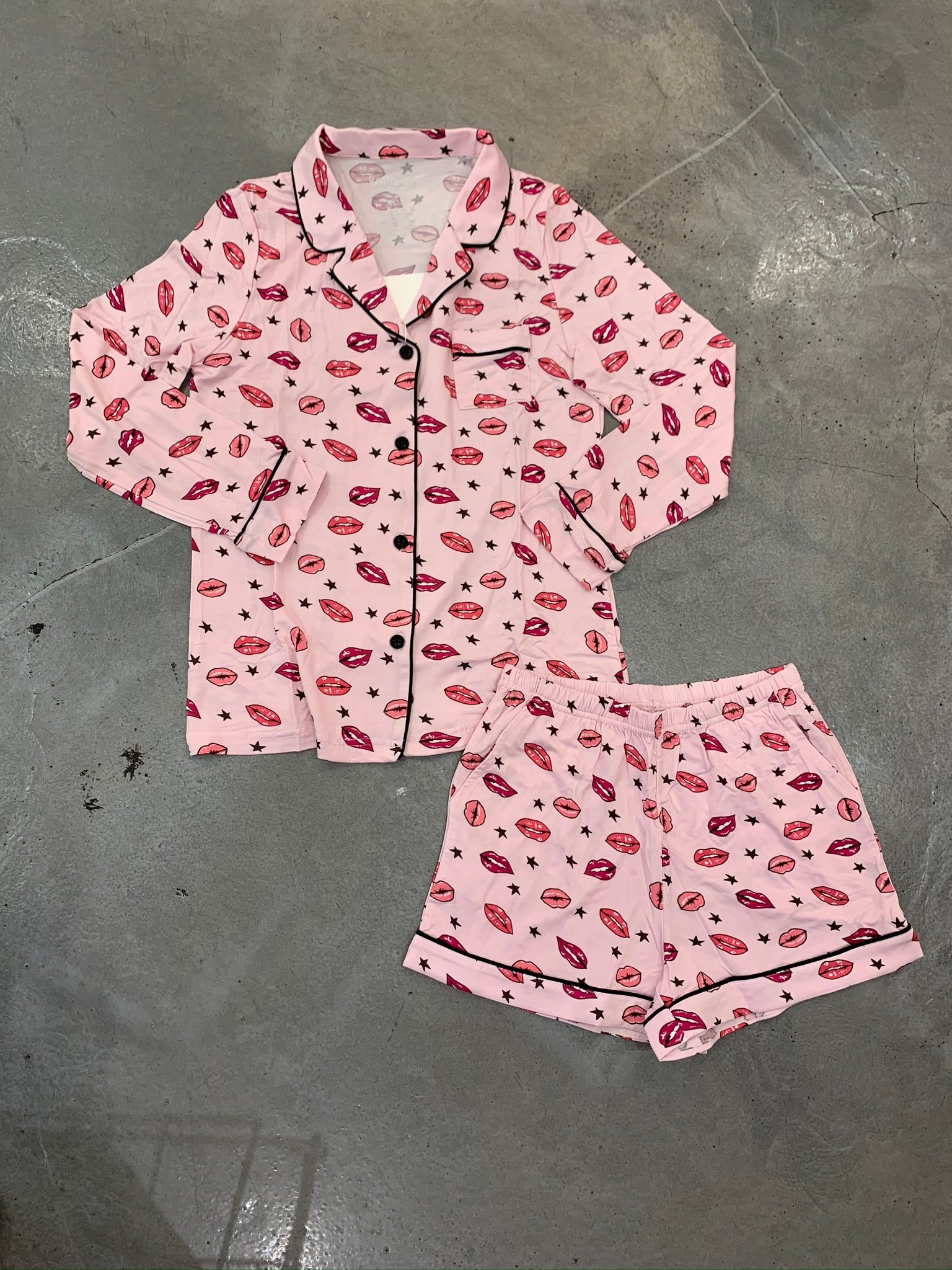 Katie J Julia Shorts Set, Be Mine