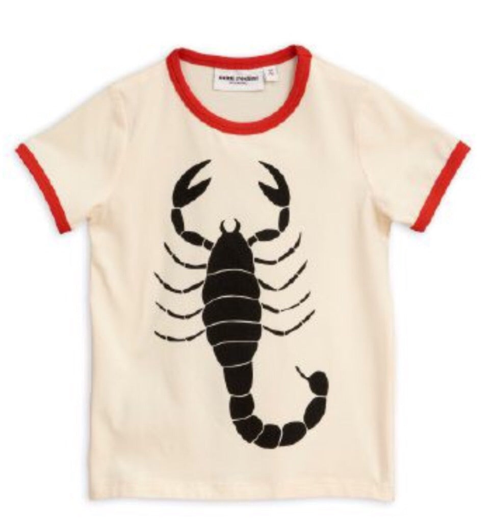 MINI RODINI Short Sleeve Scorpion T Shirt