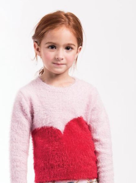 Imoga Dorian Girls Sweater - Powder