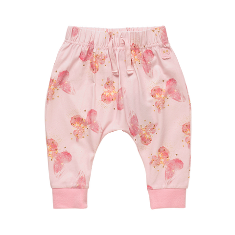 Rock Your Baby - Butterfly Kisses Baby Track Pants