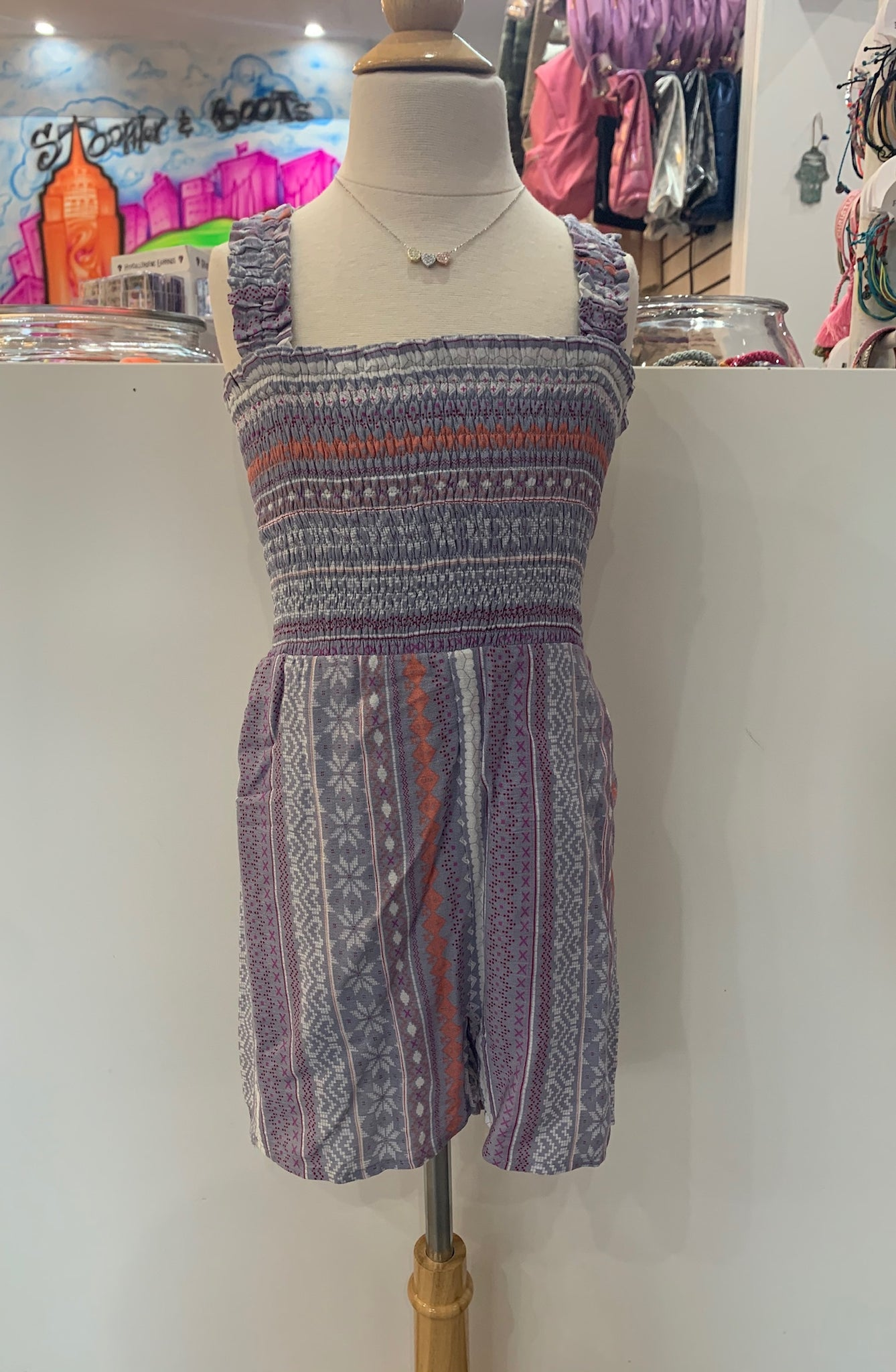 For All Seasons Boho Romper