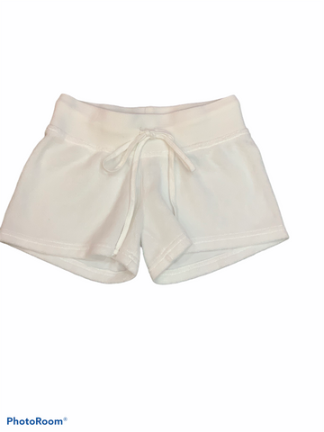 Hard Tail - Kids White Terry Shorts