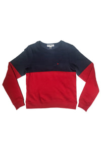 SUBURBAN RIOT Girls Colorblock Sweatshirt
