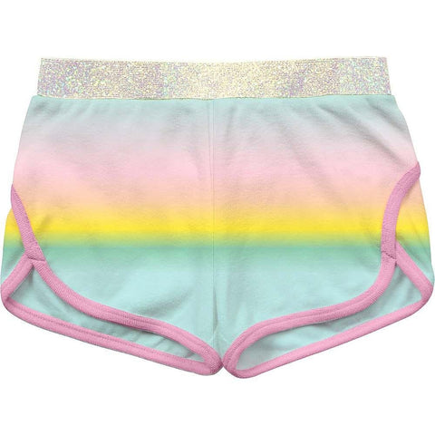 Billieblush - TERRY PASTEL RAINBOW SHORTS