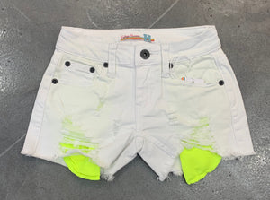 Vintage Havana Denim Shorts - Neon Pocket