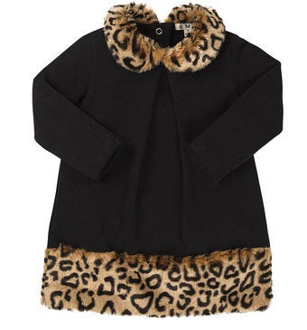 EMC Girls Leopard Trim Dress