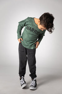 JOAH LOVE Boys Long Sleeve Warrior Tee