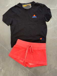 Hard Tail Terry Shorts, Coral - Kid Sizes
