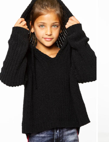 MALIBU SUGAR Girls Hooded Sweater