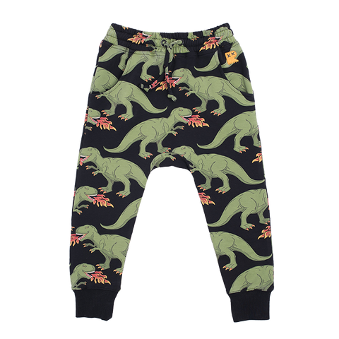 ROCK YOUR BABY Dinosaur Sweatpants