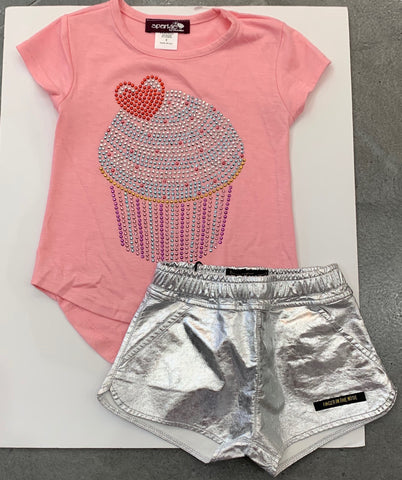 Sparkle by Stoopher Tee, Cupcake