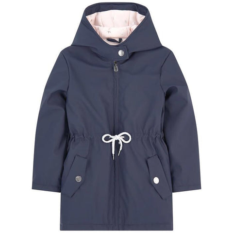 CARREMENT BEAU Girls Navy Coat